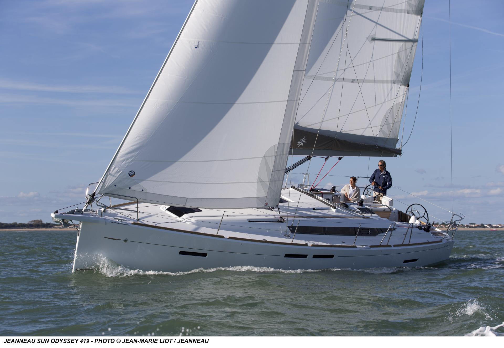 Jeanneau Sun Odyssey 419 - Zephyrus