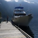 Cruising Vancouver on a Bayliner 3888