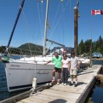 Nanaimo Yacht Charters making our charter so very pleasant and enjoyable.