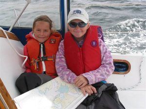 Yachting in Vancouver with Children