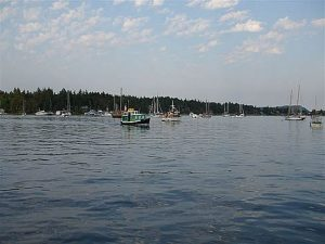 Vancouver Yacht Charter - Mark Bay, Newcastle Island BC, Canada