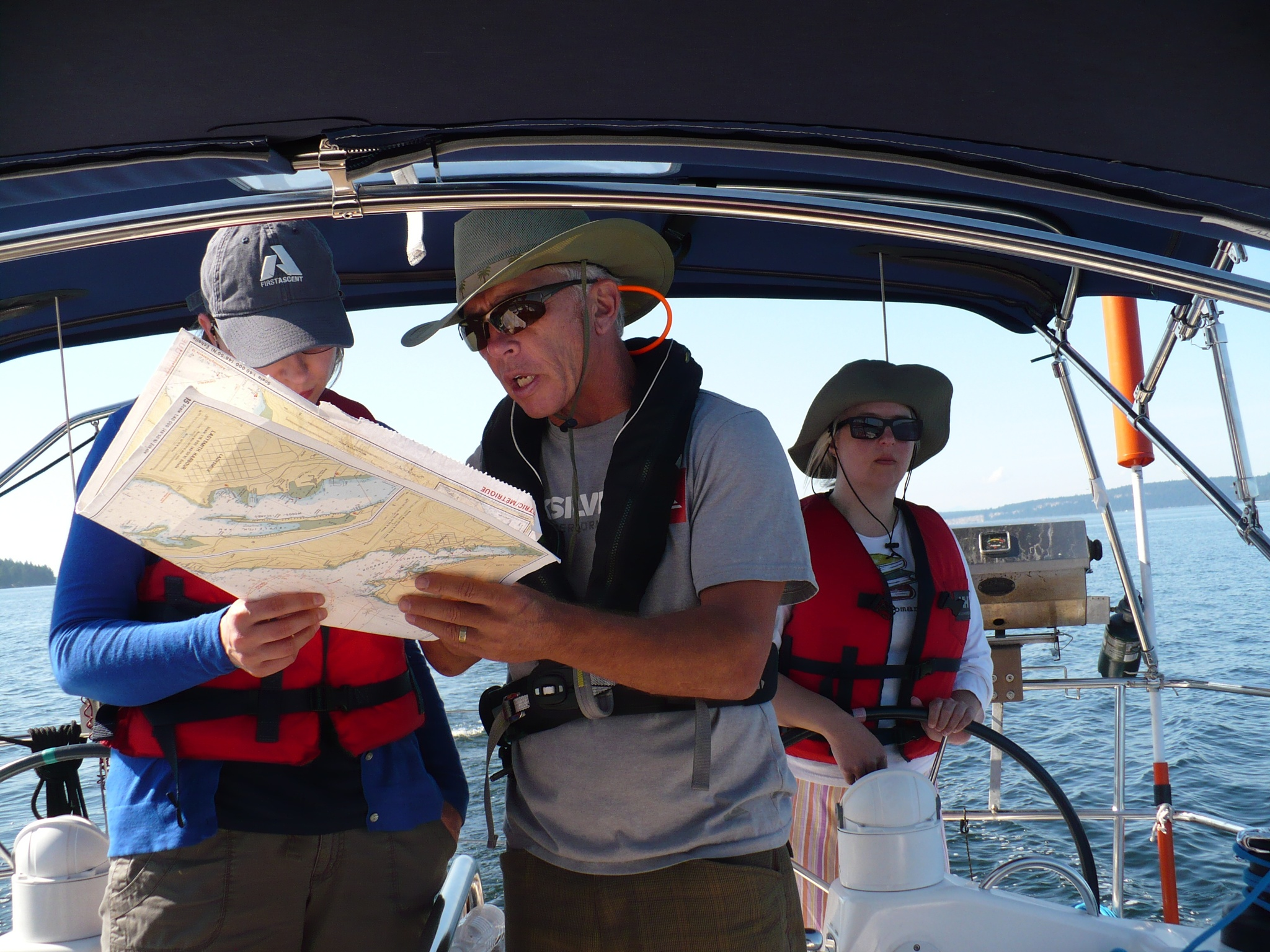 Basic Competent Crew Sailing Courses