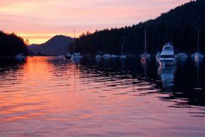 Fiery Sunset - Montague Harbour_5437433134_l