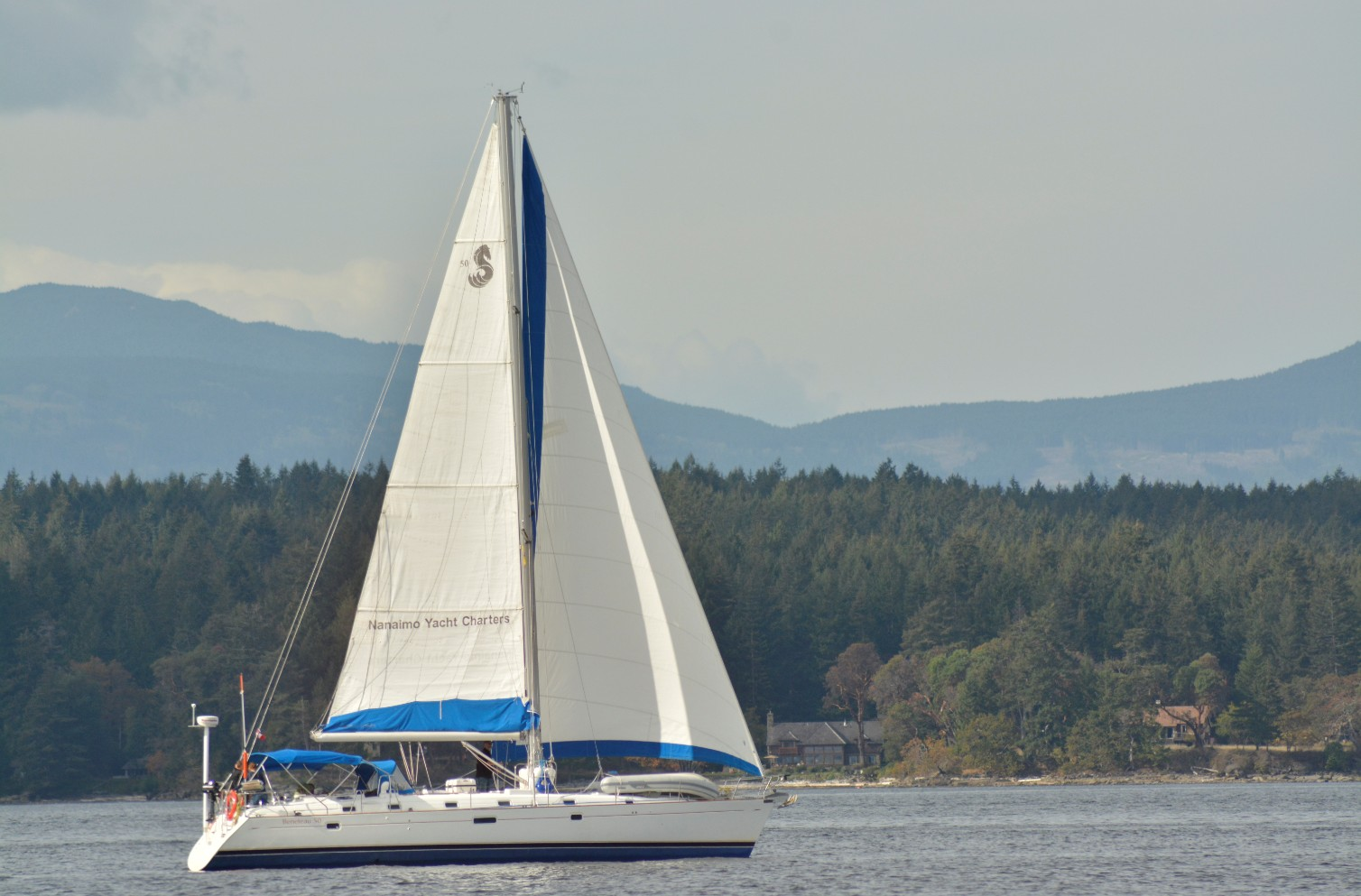 Best time Sailing, Sailing Vancouver is providing spectacular scenery on and around this beautiful island.