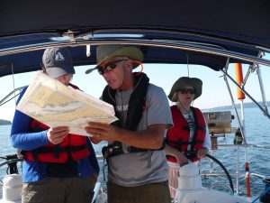 learn the basics of sailing