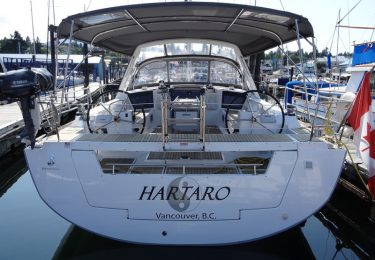 Vancouver bareboat charter fleet Beneteau