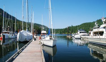 a fantastic time cruising the southern Gulf Islands.