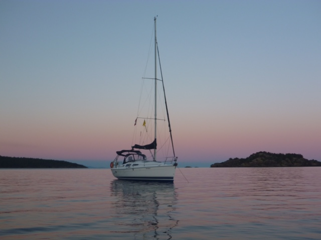 Visit places on a bareboat yacht charter around Vancouver Island.