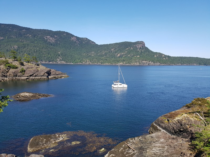 Enjoy yachting with Nanaimo in the sunshine on board one of our many beautiful yachts.