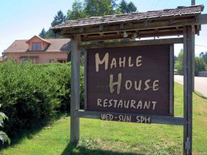 The Mahle House is situated in a beautiful little farming community.