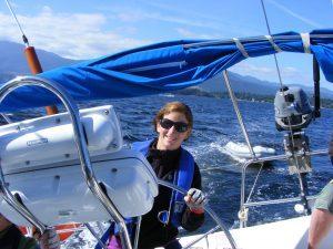 Sailing School Skills Handling a sailboat under power