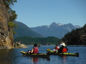 Renting a Kayak is a great way to get closer to the water and it is a fabulous day out for your holiday.