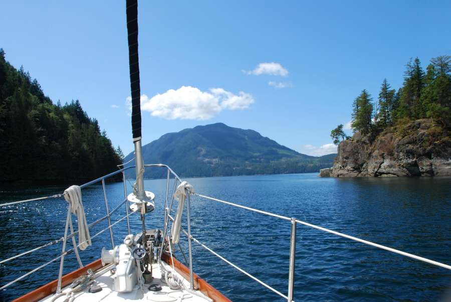 The Gulf Islands are a spectacular place to go cruising