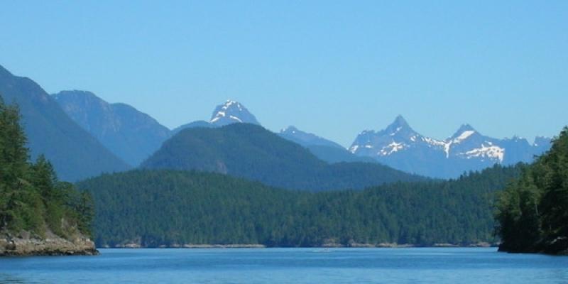 Desolation Sound Marine Park is the largest Marine Park in B.C.