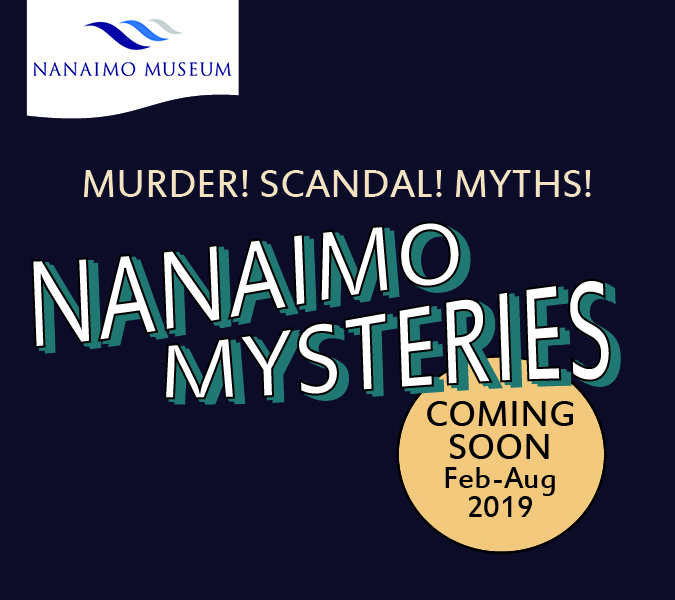 Vancouver's events for 2019 - Nanaimo Mysteries
